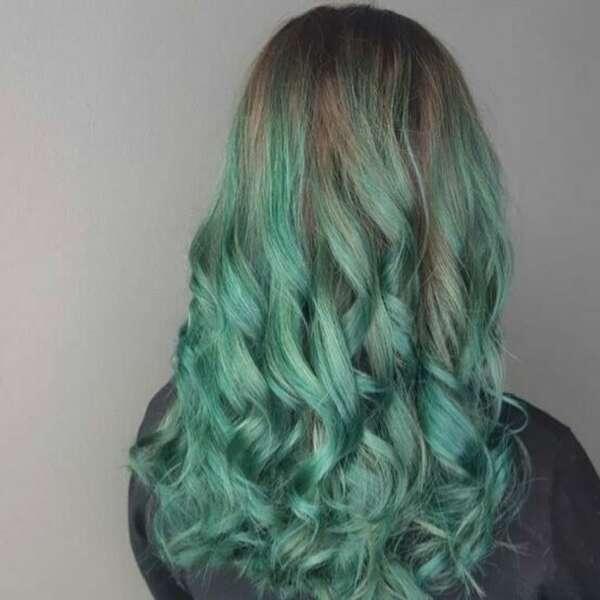 Etter bilde green hair VB