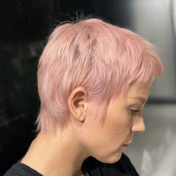 Rosa hår karo