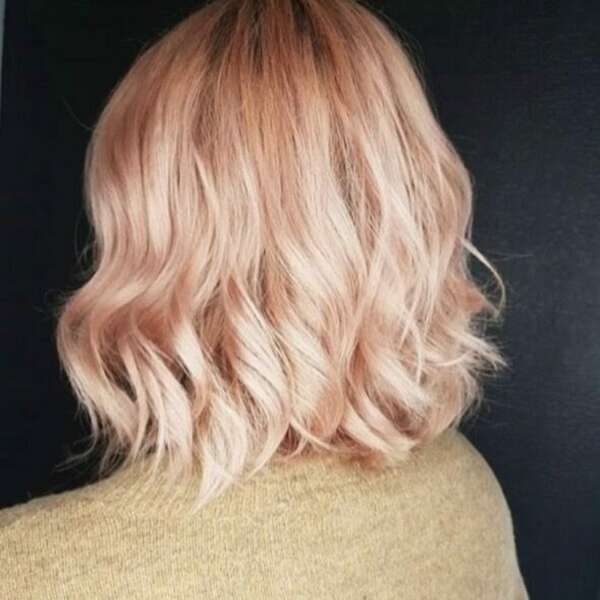 Rosegold hair